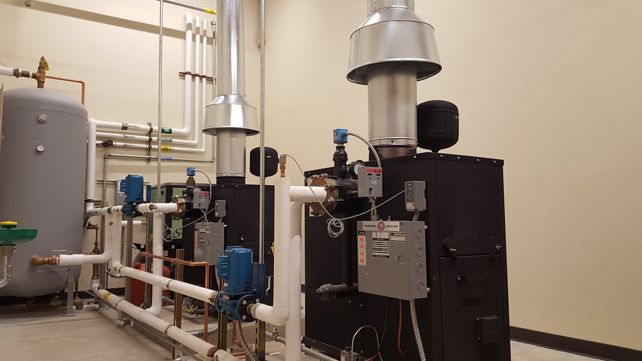 Parker Boiler Products Steam Hot Water Condensing